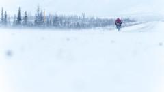 Мъжът, който обикаля с колело замръзналата Арктика