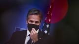 """Блинкън на среща със Зеленски в Киев иска да """"потвърди непоклатимата подкрепа"""" на САЩ"""