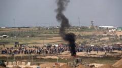 Убити и ранени палестинци при сблъсъци на границата на Израел с Газа