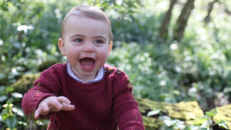 Снимка: Изненадата на Кейт за рождения ден на принц Луис