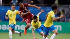 Бразилия и Венецуела завършиха 0:0 в мач от Копа Америка