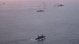 САЩ следят изкъсо военни учения между Русия и Китай в Балтийско море