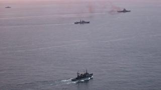 САЩ изкъсо следят военни учения между Русия и Китай в Балтийско море