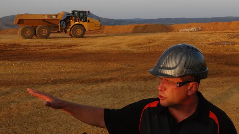 Снимка: Собственикът на мината Ада тепе: Очакваме да си възвърнем инвестицията до 3 години
