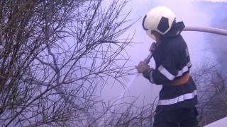 Две деца пострадаха при пожар в Пловдив