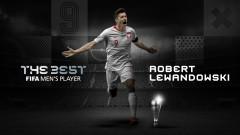 """Напълно заслужено - Левандовски спечели наградата на ФИФА за """"Футболист на годината"""""""