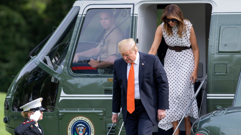 Президентът на САЩ Доналд Тръмп приветства включването на бившия вицепрезидент
