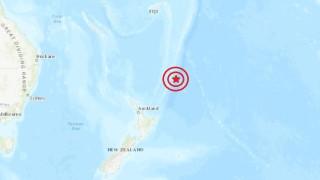 Земетресение от 6.3 по Рихтер във водите край Нова Зеландия