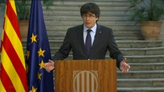 Карлес Пучдемон призова Каталуния към демократична съпротива