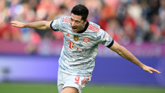 Байерн разби Байер (Леверкузен) с пет гола за едно полувреме