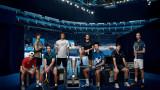 Големите звезди на световния тенис повеждат отборите си на ATP Cup