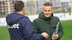 Валентич с жест към футболистите на Ботев (Пд)