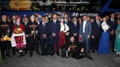 Испанските звезди бяха настанени в луксозна база в Краснодар