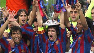 Барселона спечели трофея в Шампионската лига
