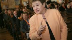 Кристалина Георгиева призова за реформа на системата за хуманитарна помощ, била на ръба на банкрута