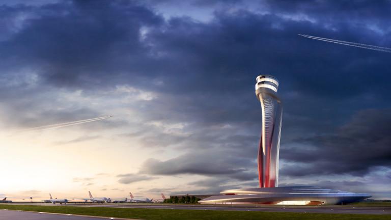 Дизайнът на летището е дело на Pininfarina