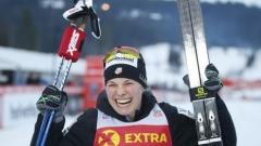 Джеси Дигинс беше най-бърза на 5 километра в Тур дьо ски