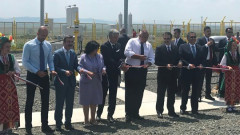 Борисов и Петкова откриха разширение на транзитния газопровод до Турция