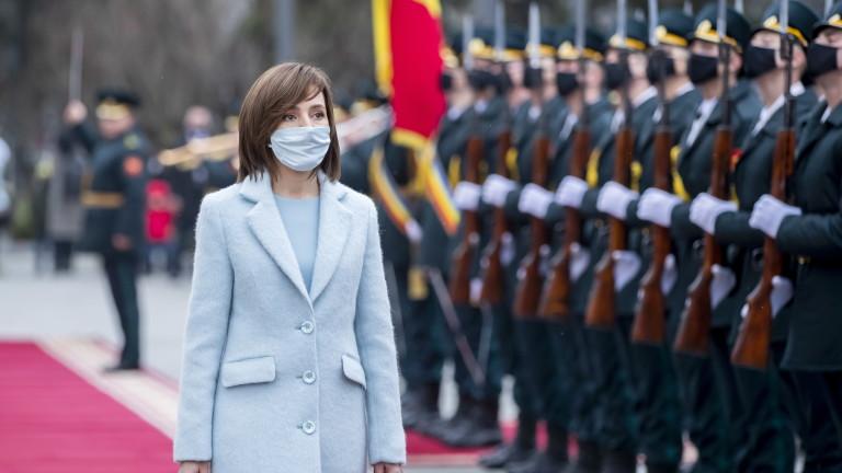 Санду готова на диалог с Русия по важни теми