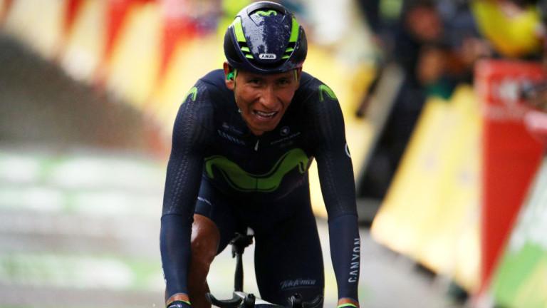 """Наиро Кинтана спечели втория етап на """"Ла Вуелта"""" 2019"""