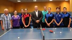 Министър Красен Кралев се срещна с националите по тенис на маса