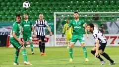 Локомотив (Пловдив) - Лудогорец 0:1, Натанаел открива резултата, пак съдийско рамо за разградчани!