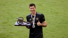 Левандовски е Футболист на годината в Германия за втори пореден път