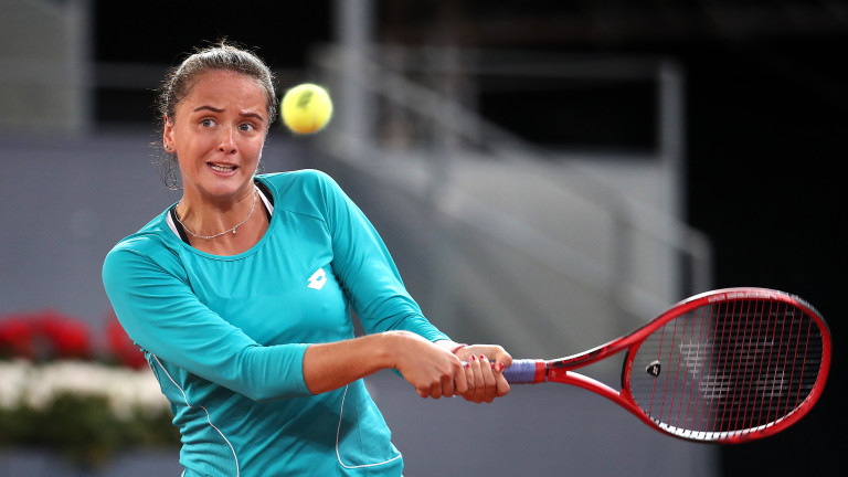 Виктория Кузмова на 1/4-финал на WTA International в Букурещ
