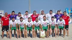 Националите ни по плажен футбол със загуба от Румъния