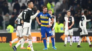 Роналдо направи разликата между Юве и Парма