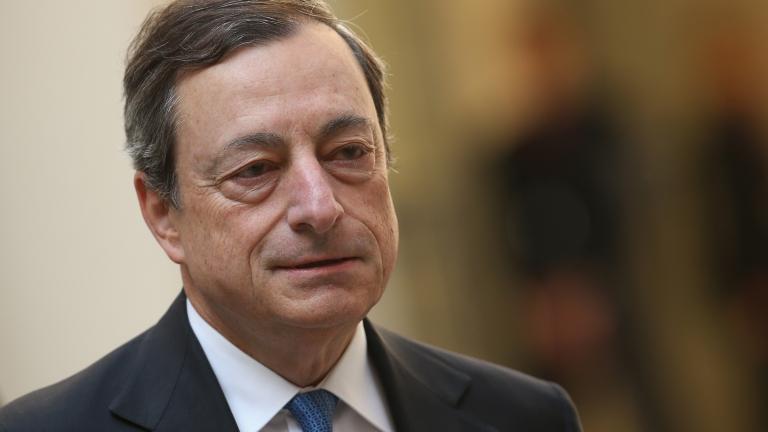 Снимка: Драги: Заемите за банките са първата защита срещу икономическо забавяне
