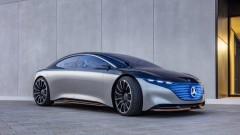 Първата електрическа S-класа на Mercedes