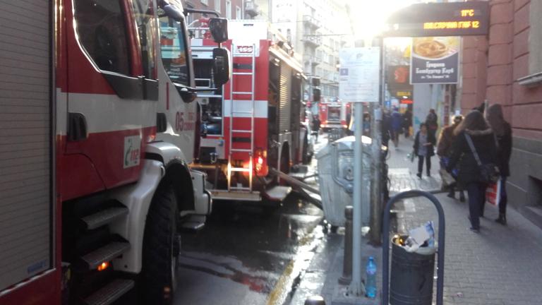 Отново пожар в столичния хотел Маринела