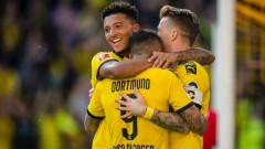Дортмунд изнесе лекция на Леверкузен, вкара четири безответни гола