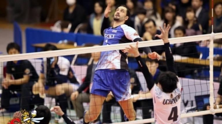 Японският отбор на Казийски се завърна на победния път
