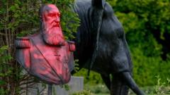 В Белгия продължават да атакуват паметници от колониалното минало