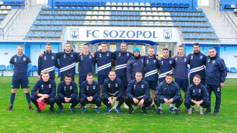 Созопол мери сили с отбори от Първа лига