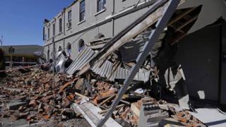 Силно земетресение в Нова Зеландия