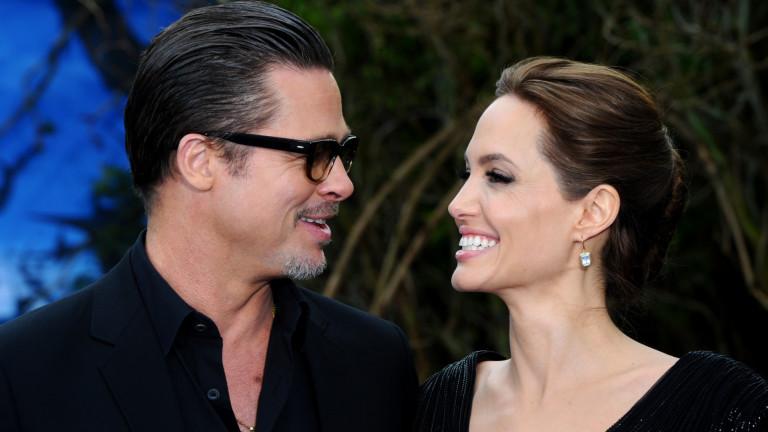 Новият общ бизнес на Анджелина Джоли и Брад Пит