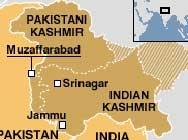 Първо нарушение на примирието между Индия и Пакистан