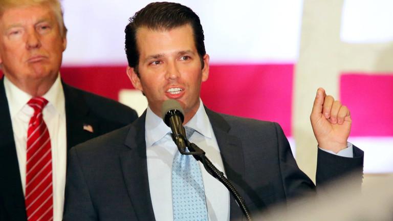 И синът на Тръмп е лъгал за контактите с руснаци