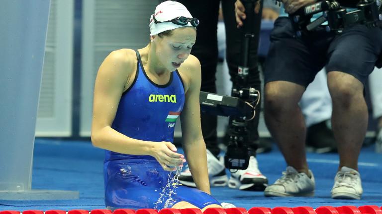 Унгарската плувкиня Богларка Капаш е диагностицирана с COVID-19. Антъни Иванов
