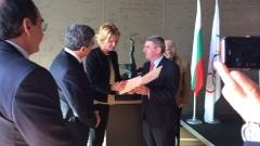 Президентът на МОК прие Стефка Костадинова