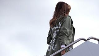 Мелания Тръмп предизвика скандал с яке