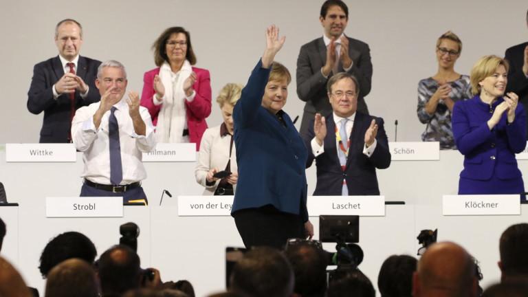Меркел иска нови хора в партията си, но със същите ценности