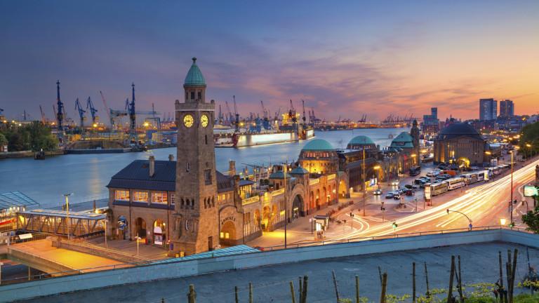 Пристанището в Хамбург, третото най-голямо в цяла Европа, ще използва