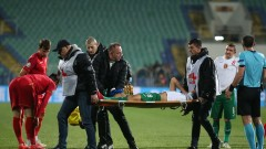 Контузията на Ивайло Чочев е тежка, предстои му операция