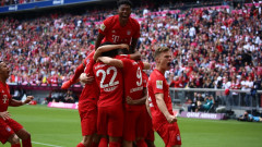 Мечтан баварски триумф в Бундеслигата, Робен и Рибери с голове в последния си мач за Байерн!