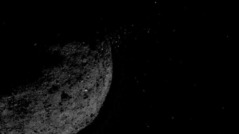 Космическата сонда на NASA, която беше изстреляна към астероида Бену,