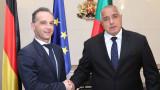 Бойко Борисов се срещна с Хайко Маас